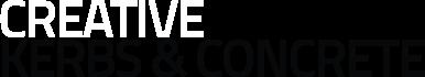 Creative Kerbs & Concrete logo